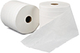 Tissue Wipe Roll White