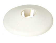 Pipe Collar 42mm White