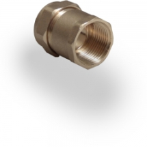 Compression Coupler 15mm x 3/4 inch FIC