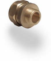 Compression Coupler 15mm to 3/8 inch MI