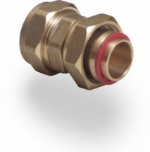 Compression Straight Tap Connector 22mm:3/4