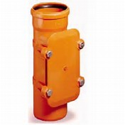UG 110mm SS Access Pipe Bolt Down Socket: Spigot