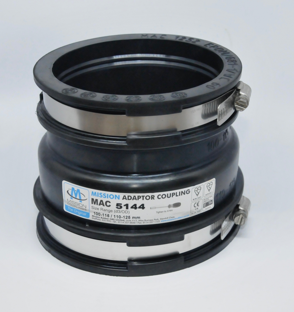 110MM 4INCH UNDERGROUND UG Flexi Coupling Adaptor 4 Cast