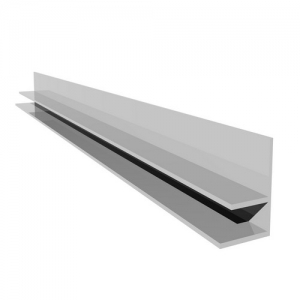 Hollow Soffit F Wall Trim White