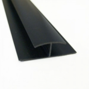 Hollow Soffit H Section Trim Antracite Grey