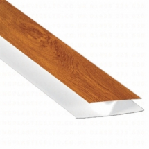 Hollow Soffit H Section Trim Golden Oak