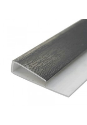 Hollow Soffit J Starter Trim Anthracite Grey Grain