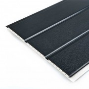 Hollow Soffit 300mm Anthracite Grey Grain (Soffit/Int Clad)