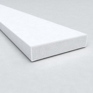 28mm B Section Window Trim White