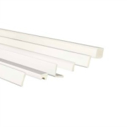 Kestrel Shiplap 150mm Starter Trim White (not FCD212EW)