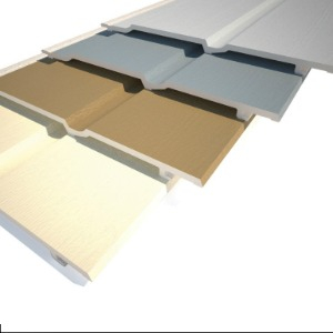 Fortex U J Universal 1 Part Edge Trim x 3m Cappuccino