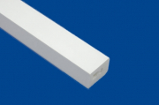 25mm X 30mm Rectangular Trim 5m White