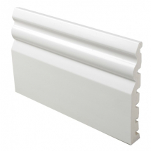 PVC Architrave/Skirting Board 125mm 5m White