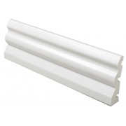 PVC Architrave/Skirting Board 70mm 5m White