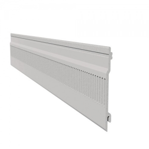Pre Vented Open Vee Cladding 100mm White
