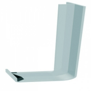 Fascia 600mm Double Joiner White