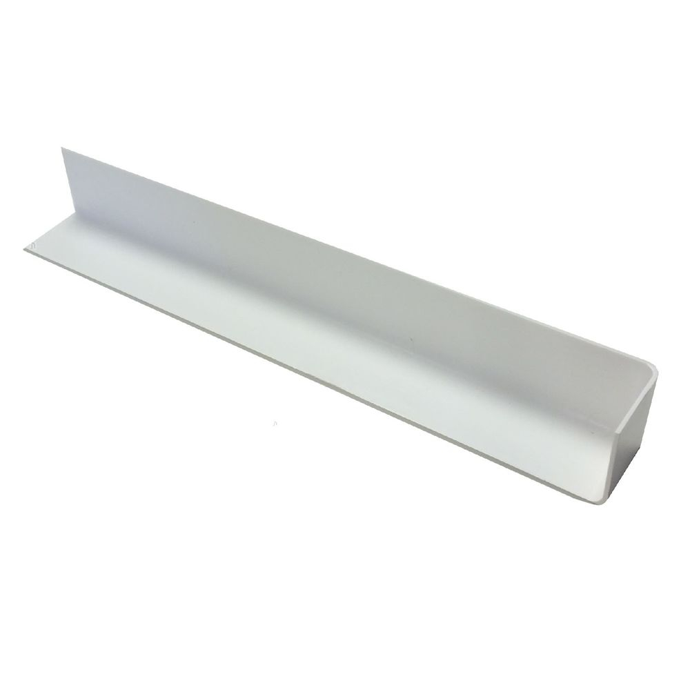 Fascia Single Corner White