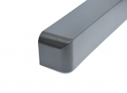 Fascia Single Corner Anthracite Grey Grain