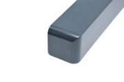 Fascia 600mm Double Corner Anthracite Grey