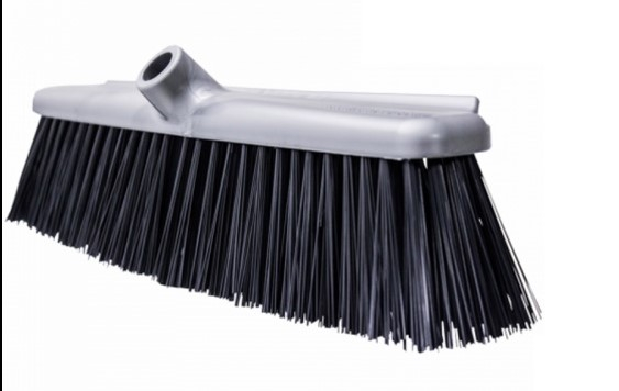 Gorilla Large Stiff Broom Grey