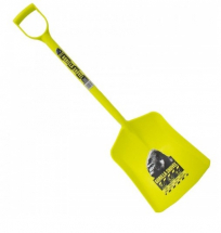 Gorilla One Piece Plastic Shovel Yellow