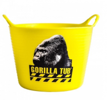 Gorilla Tub Extra Large 75 litre Yellow