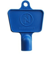 Meter Box Key ELECTRIC BLUE