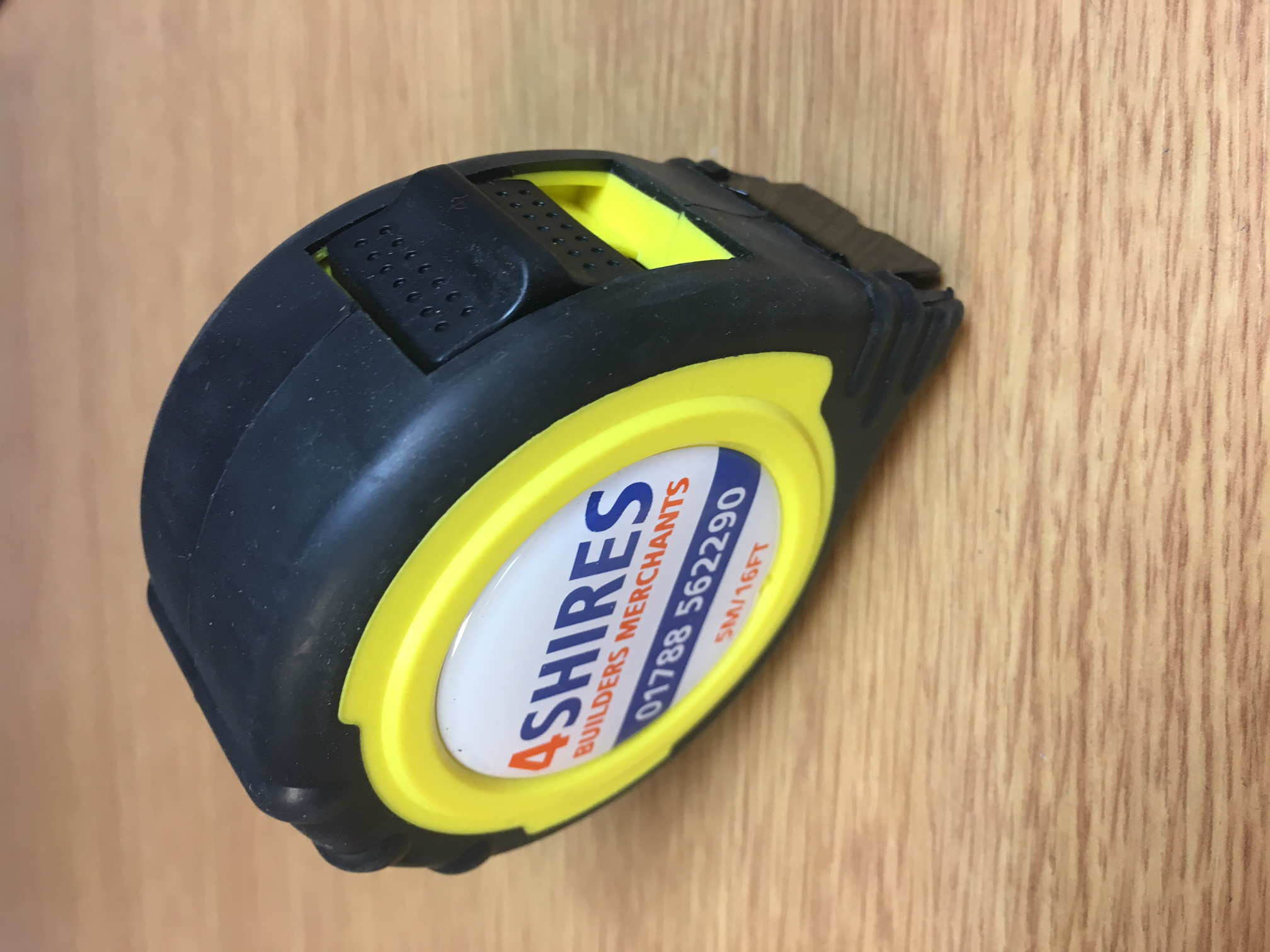 4Shires Own Logo Tape Measure 5mtr