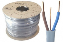 Flat Grey Cable 1.5mm x 50m Twin & Earth Reel
