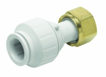 Straight Tap Connector 22mm x 3/4 inch