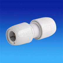 Hep2o Straight Connector 22mm White