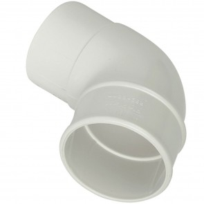 Hi Cap 92.5 Offset Bend 80mm White