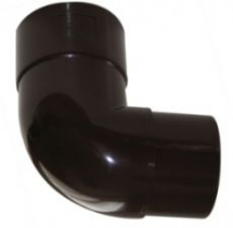 Hi-Cap 92.5 Offset Bend 80mm Brown