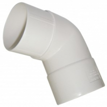 Hi Cap 112.5 Offset Bend 80mm White