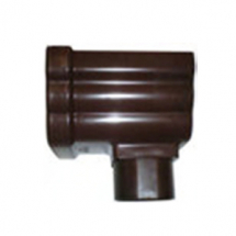 Freefoam Ogee Stopend Outlet Brown