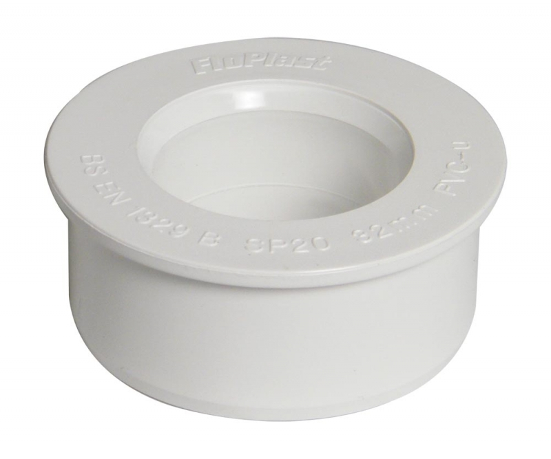 SOLVENT Boss Adaptor 32mm WHITE
