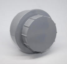 RS 110mm Screwed Access Cap Grey