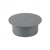 RS 110mm Socket Plug Grey