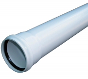 RS Pipe 110mm SS White 3m