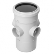 RS Boss Pipe 110mm White
