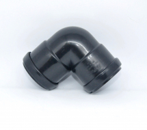 Bend 90 Knuckle Pushfit 40mm Black