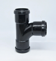 Tee Pushfit 40mm Black