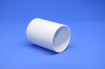 Straight Coupler 50mm SOLVENT White