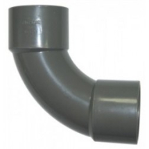 Bend 92 deg Swept 40mm SOLVENT Grey