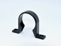 Pipe Clip 32mm SOLVENT Black
