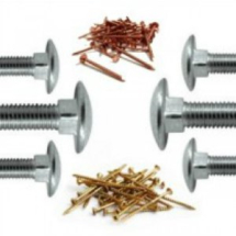Double Action Spring Hinge 175mm x 107mm Pair